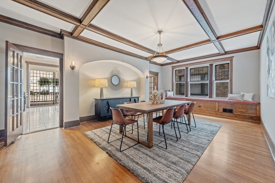 Real Estate Photography - 448 W Wrightwood Avenue, 2, Chicago, IL, 60614 - Dining Room
