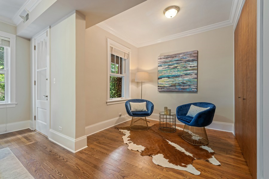 Real Estate Photography - 448 W Wrightwood Avenue, 2, Chicago, IL, 60614 - Den