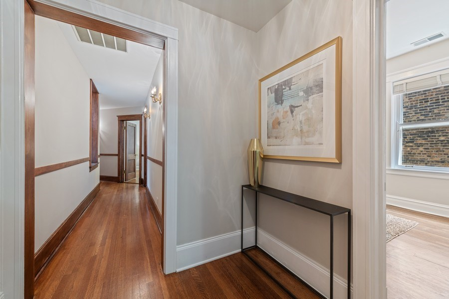 Real Estate Photography - 448 W Wrightwood Avenue, 2, Chicago, IL, 60614 - Hallway