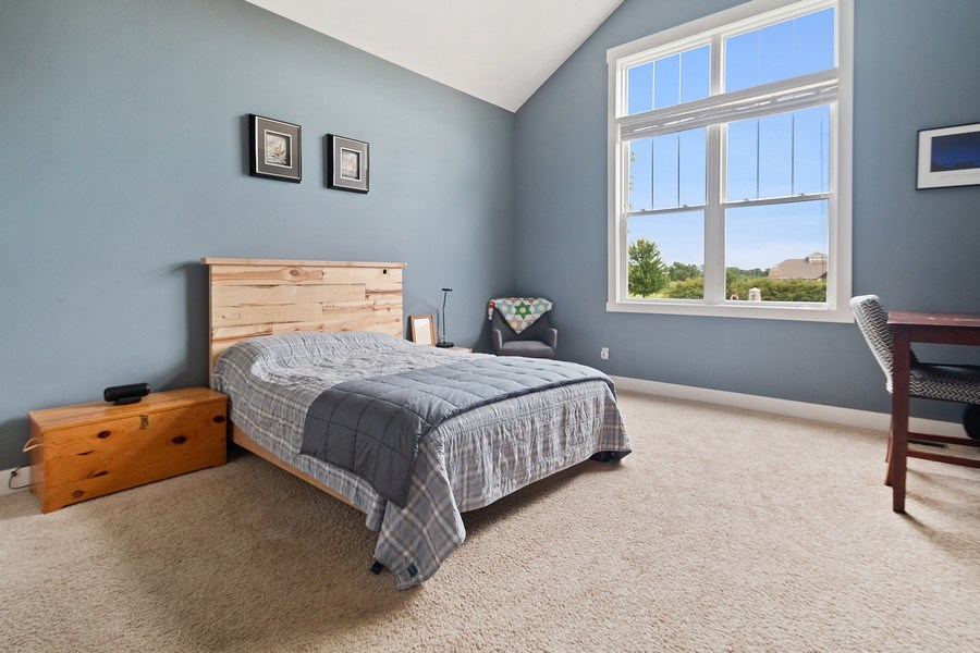 Real Estate Photography - 13113 Charleston St, Caledonia, IL, 61011 - Master Bedroom