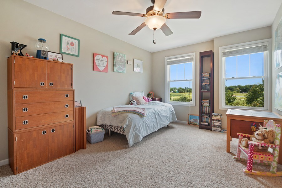 Real Estate Photography - 13113 Charleston St, Caledonia, IL, 61011 - 3rd Bedroom