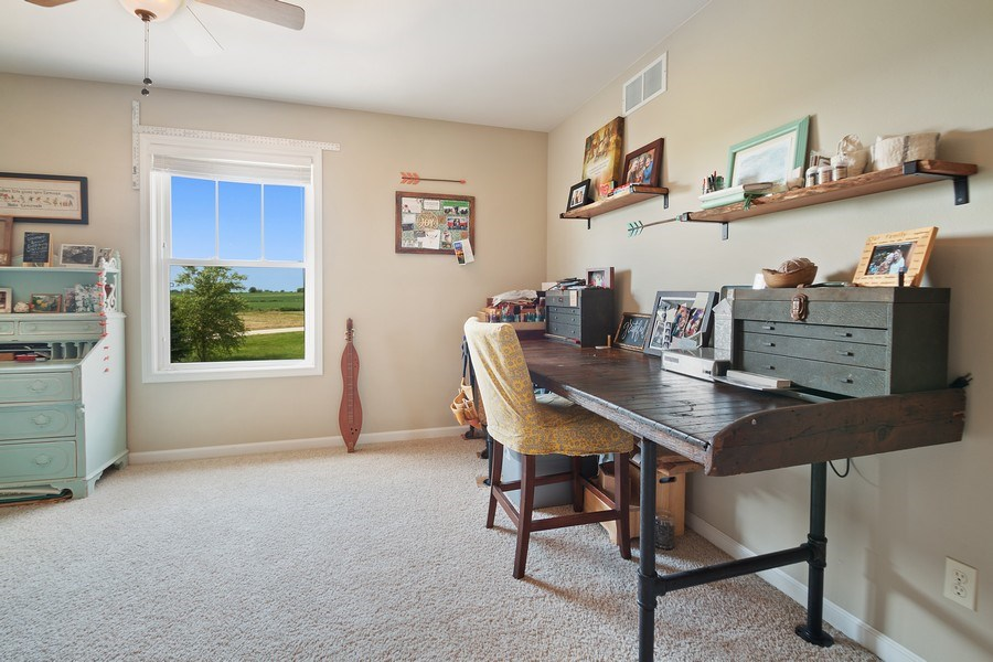 Real Estate Photography - 13113 Charleston St, Caledonia, IL, 61011 - 4th Bedroom