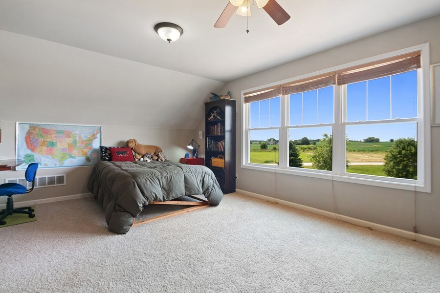Real Estate Photography - 13113 Charleston St, Caledonia, IL, 61011 - 5th Bedroom