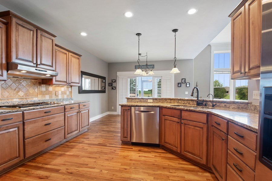 Real Estate Photography - 13113 Charleston St, Caledonia, IL, 61011 - Kitchen