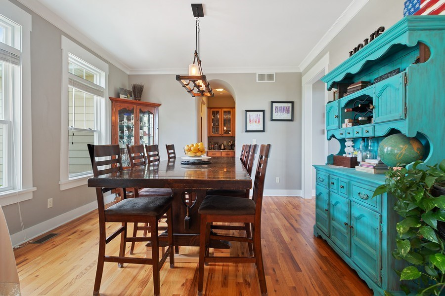 Real Estate Photography - 13113 Charleston St, Caledonia, IL, 61011 - Dining Room
