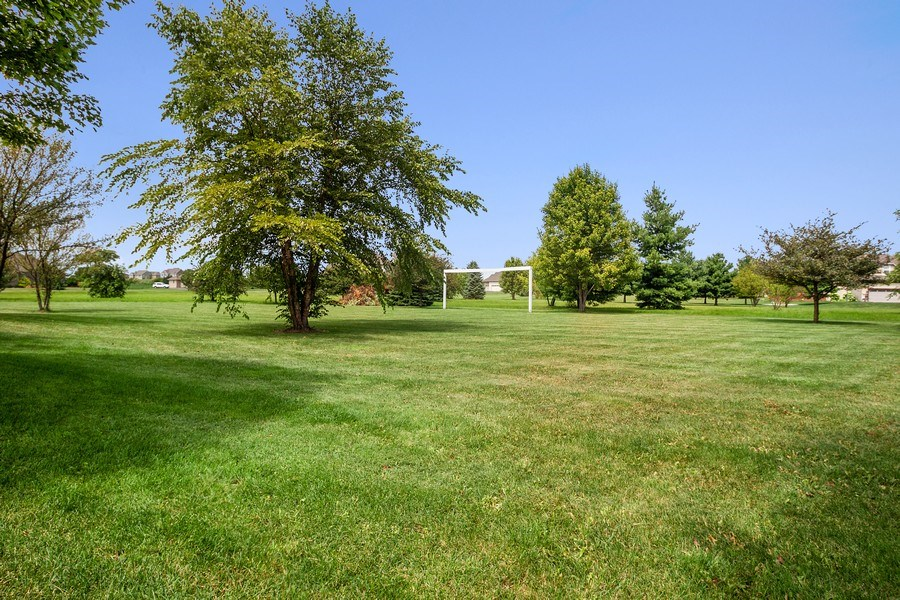 Real Estate Photography - 13113 Charleston St, Caledonia, IL, 61011 - Back Yard