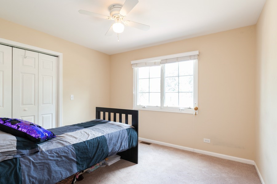 Real Estate Photography - 128 Bluff Ave, Grayslake, IL, 60030 - 2nd Bedroom