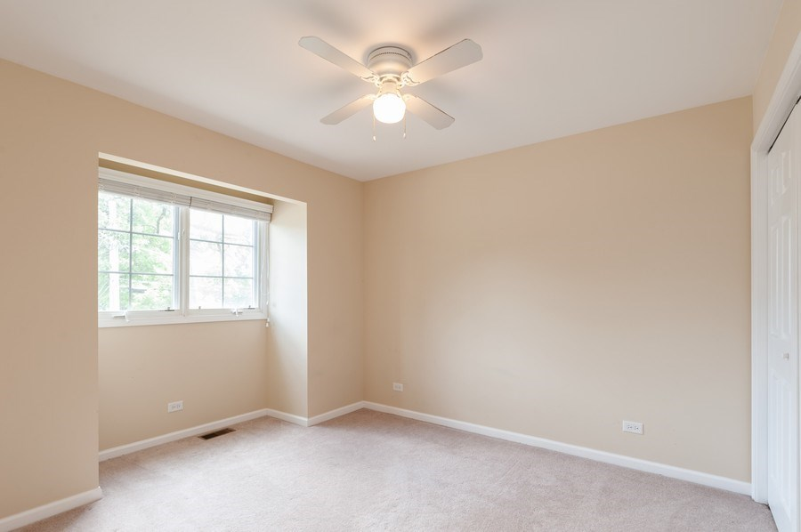 Real Estate Photography - 128 Bluff Ave, Grayslake, IL, 60030 - 3rd Bedroom