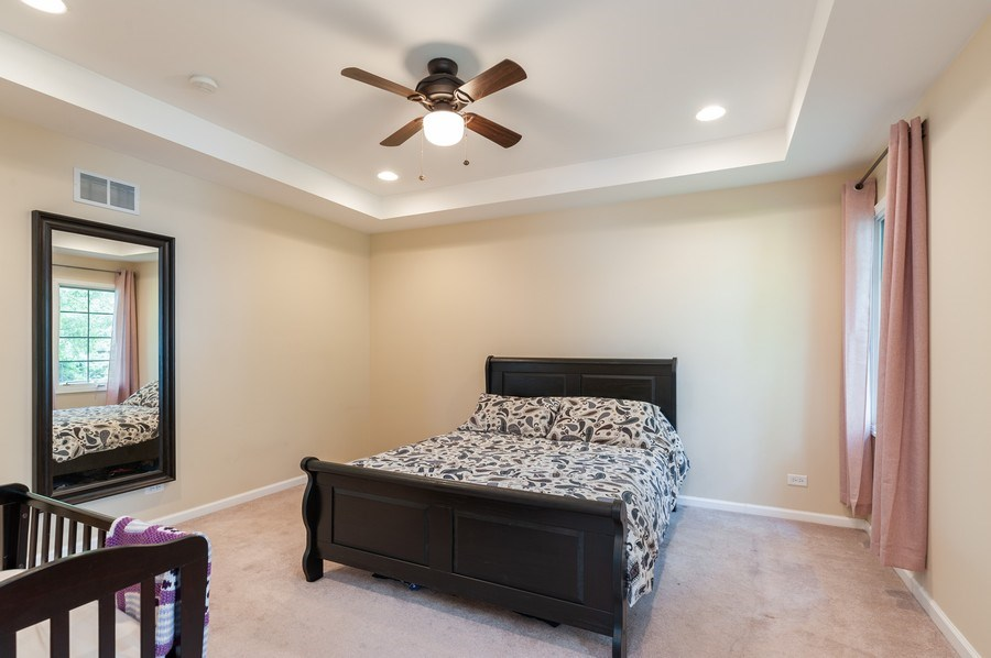 Real Estate Photography - 128 Bluff Ave, Grayslake, IL, 60030 - Master Bedroom