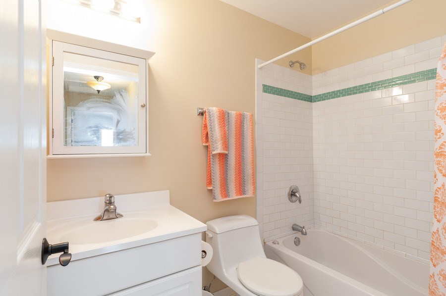 Real Estate Photography - 128 Bluff Ave, Grayslake, IL, 60030 - Bathroom