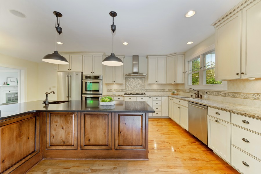 Real Estate Photography - 285 N Main St, Glen Ellyn, IL, 60137 - Kitchen.  All the cooking you could handle.