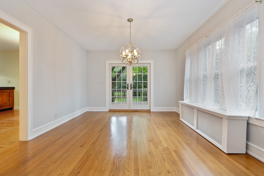 Real Estate Photography - 285 N Main St, Glen Ellyn, IL, 60137 - Dining Room.  Private formal dining room, with fre