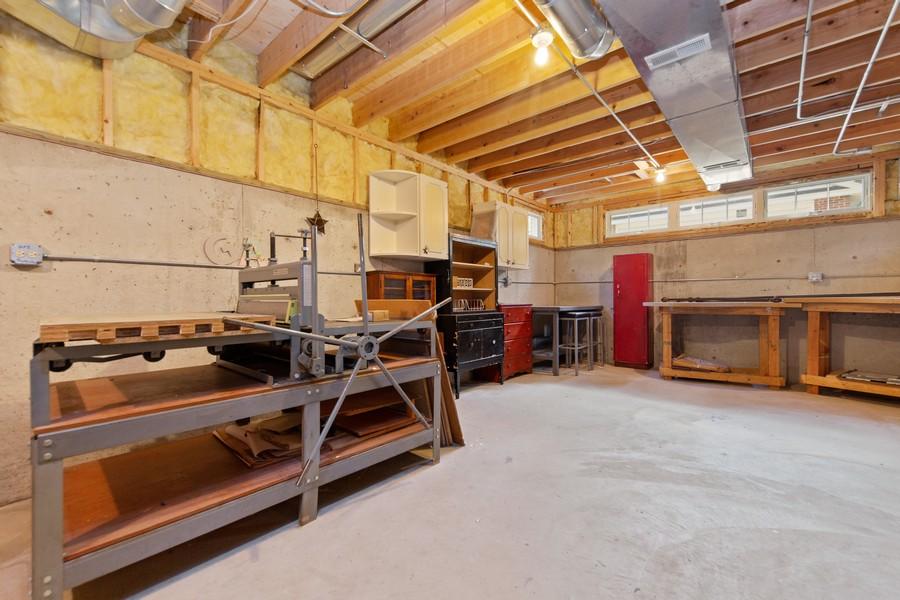 Real Estate Photography - 285 N Main St, Glen Ellyn, IL, 60137 - Basement.  Possible workshop??!