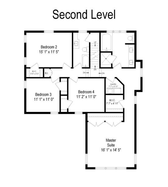 Real Estate Photography - 285 N Main St, Glen Ellyn, IL, 60137 - Floor Plan