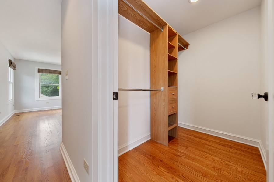 Real Estate Photography - 285 N Main St, Glen Ellyn, IL, 60137 - Master Bedroom.  Large Walk in Closet for more tha