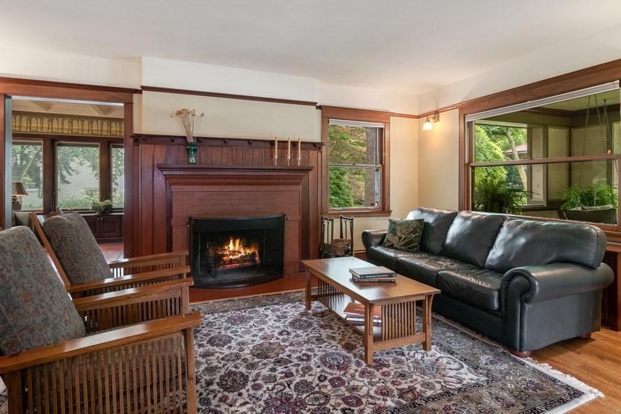 Real Estate Photography - 540 Linden, Oak Park, IL, 60302 - Living Room