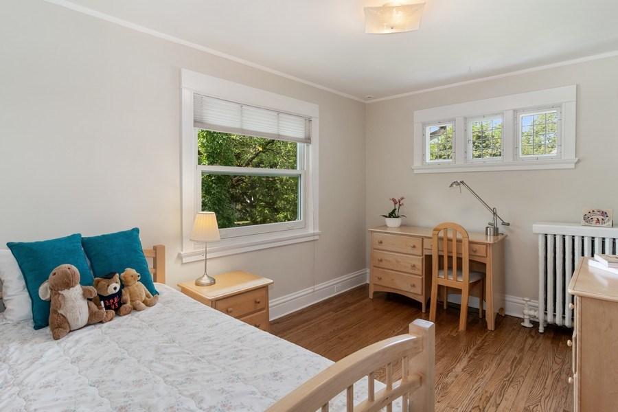 Real Estate Photography - 540 Linden, Oak Park, IL, 60302 - 4th Bedroom