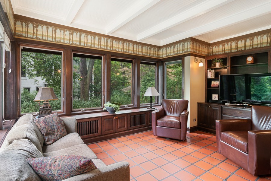 Real Estate Photography - 540 Linden, Oak Park, IL, 60302 - Family Room