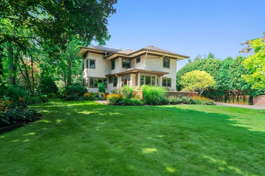 Real Estate Photography - 540 Linden, Oak Park, IL, 60302 - Rear View