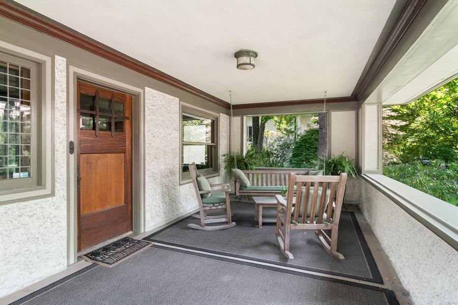 Real Estate Photography - 540 Linden, Oak Park, IL, 60302 - Porch