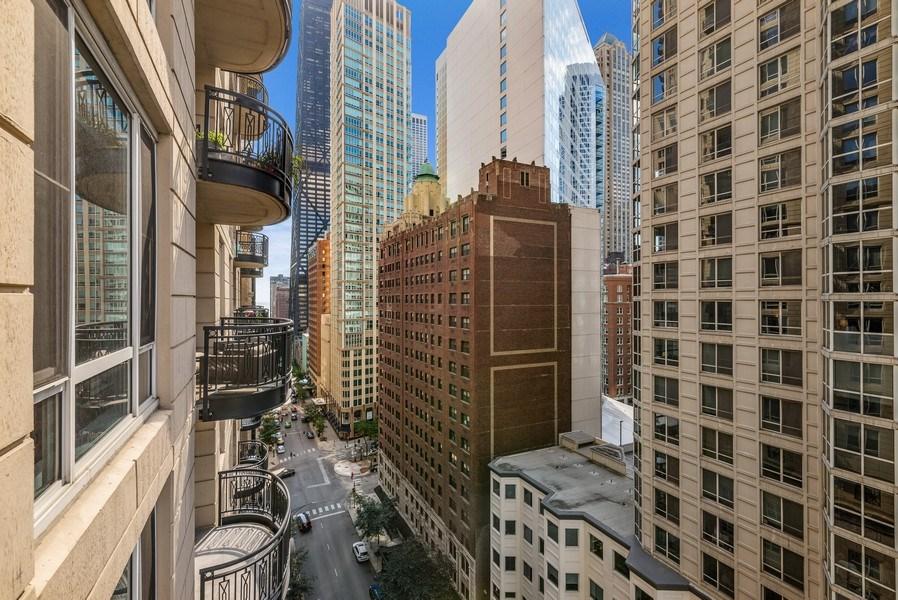 Real Estate Photography - 10 E Delaware Pl, 14D, Chicago, IL, 60611 - View