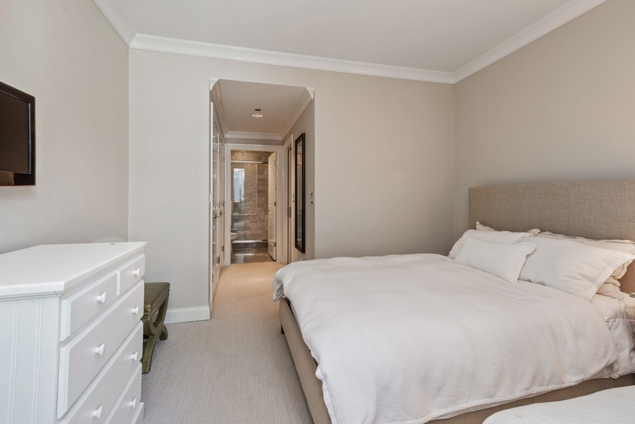 Real Estate Photography - 10 E Delaware Pl, 14D, Chicago, IL, 60611 - 3rd Bedroom
