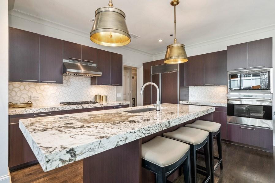 Real Estate Photography - 10 E Delaware Pl, 14D, Chicago, IL, 60611 - Kitchen