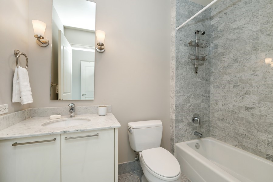 Real Estate Photography - 10 E Delaware Pl, 27B, Chicago, IL, 60611 - 3rd Bathroom