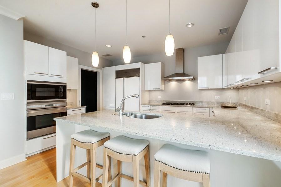 Real Estate Photography - 10 E Delaware Pl, 27B, Chicago, IL, 60611 - Kitchen