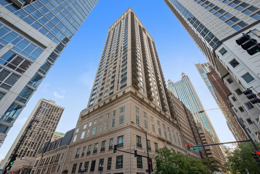 Real Estate Photography - 10 E Delaware Pl, 27B, Chicago, IL, 60611 - Front View