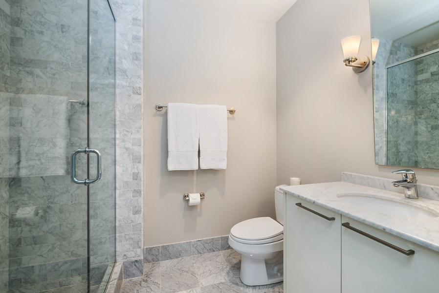 Real Estate Photography - 10 E Delaware Pl, 27B, Chicago, IL, 60611 - 2nd Bathroom