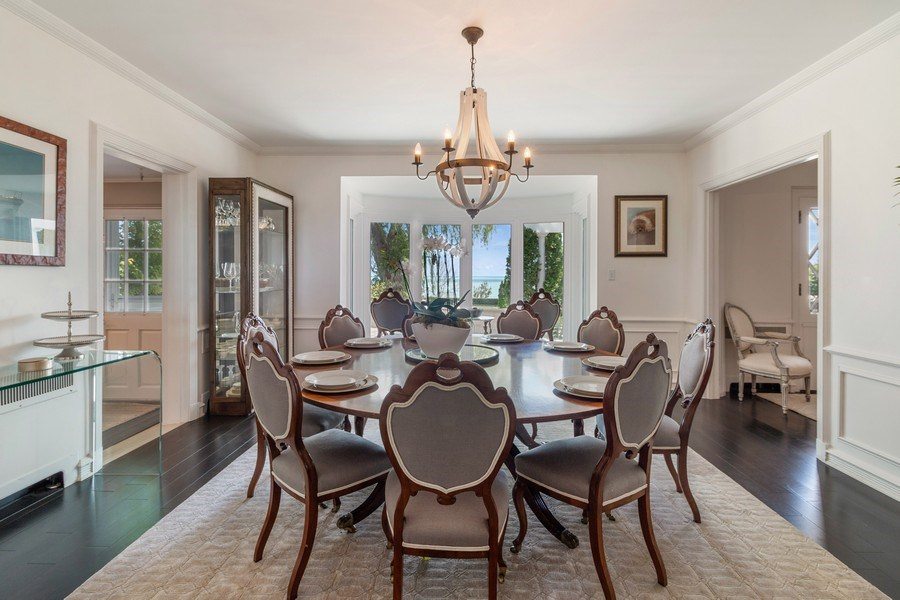 Real Estate Photography - 3411 Michigan Blvd, Racine, WI, 53402 - Dining Room