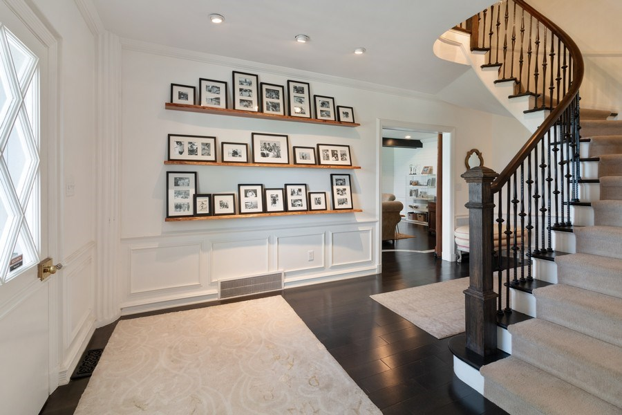 Real Estate Photography - 3411 Michigan Blvd, Racine, WI, 53402 - Staircase