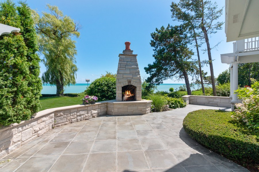 Real Estate Photography - 3411 Michigan Blvd, Racine, WI, 53402 - Patio