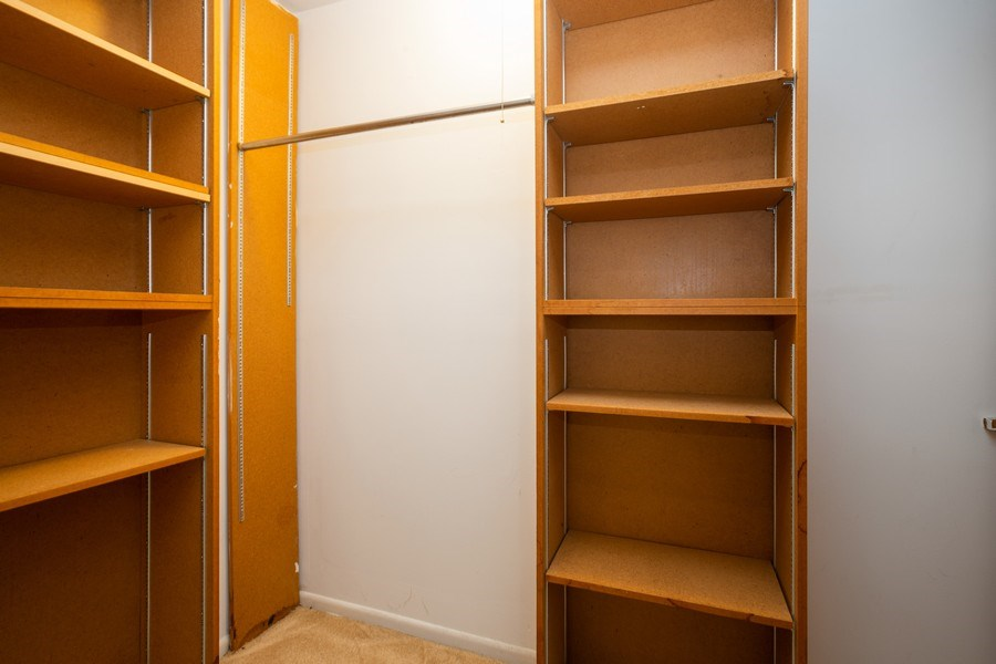Real Estate Photography - 924 W Irving Park Rd, #106, Bensenville, IL, 60106 - Closet