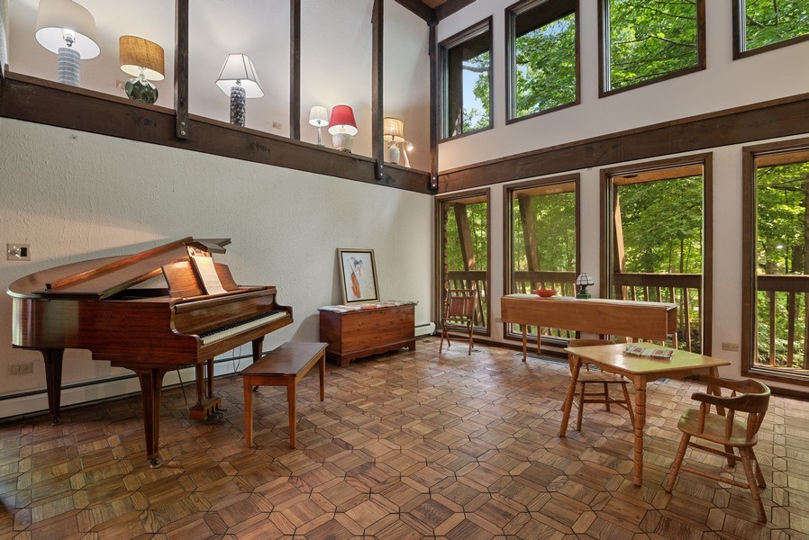 Real Estate Photography - 32433 N. Forest Dr., Grayslake, IL, 60030 - Music Room * New 2nd Level Windows