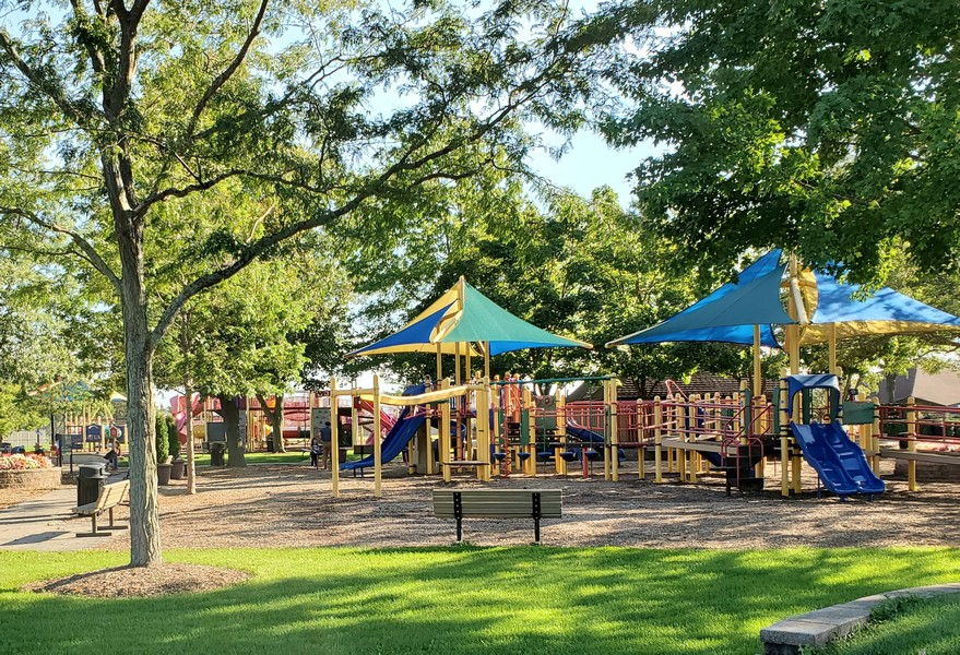 Real Estate Photography - 32433 N. Forest Dr., Grayslake, IL, 60030 - Warren Township Play Park