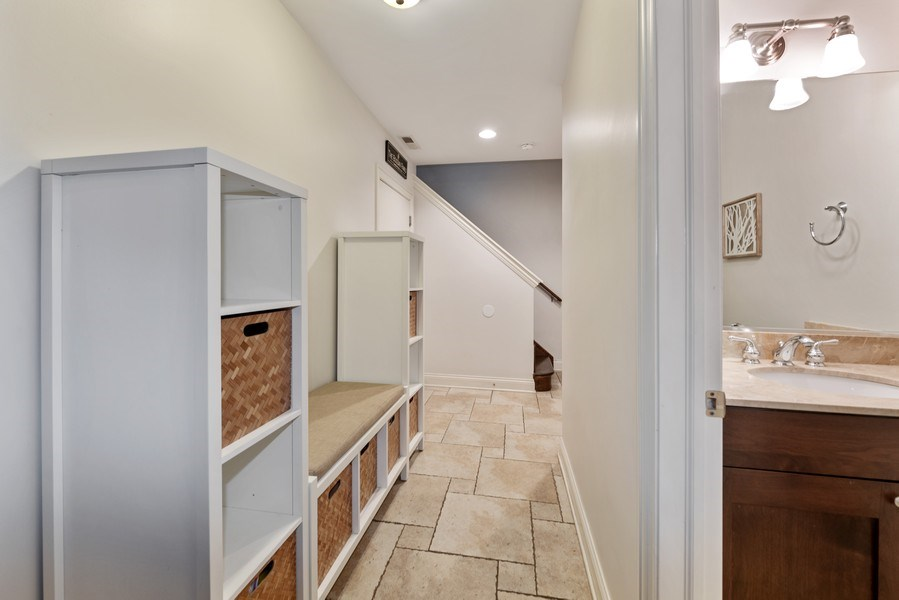 Real Estate Photography - 2060 N. Stave, #1, Chicago, IL, 60647 - Mud Room
