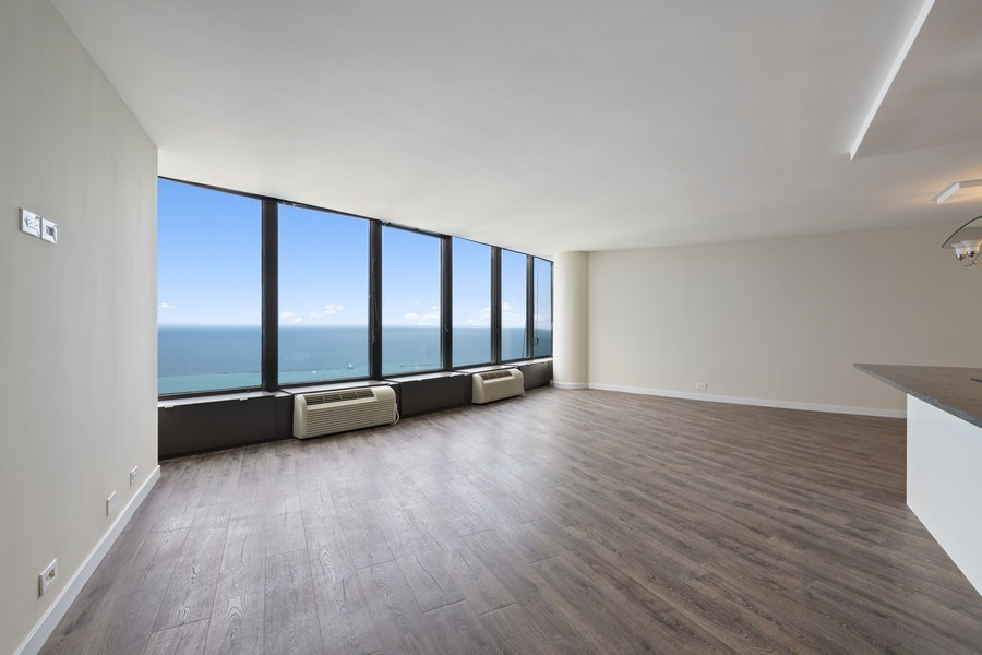 Real Estate Photography - 505 N Lake Shore Dr, Unit 6504, Chicago, IL, 60611 - Living Room