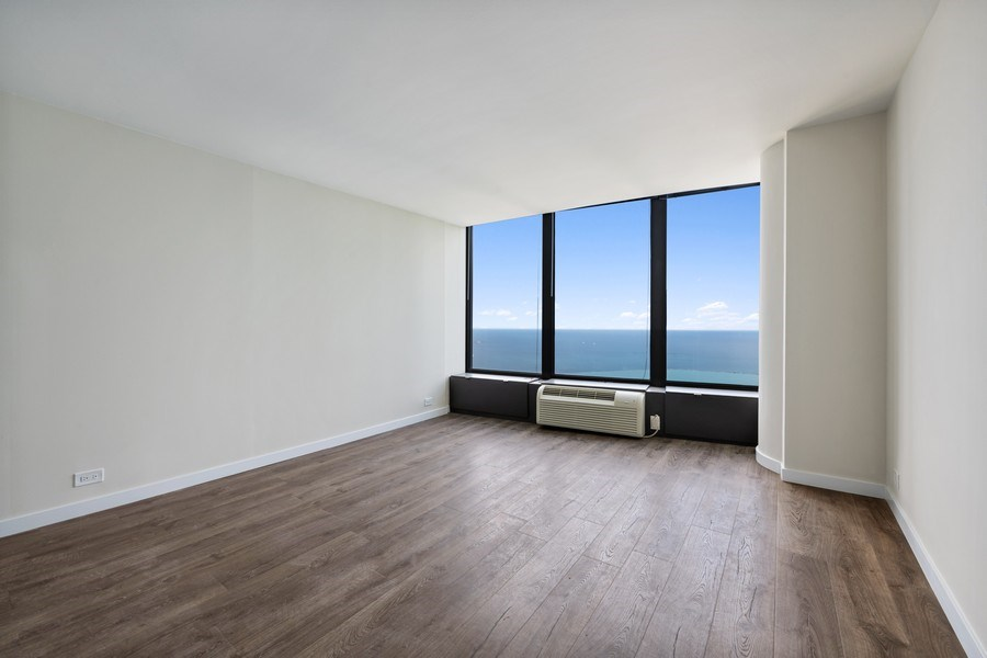 Real Estate Photography - 505 N Lake Shore Dr, Unit 6504, Chicago, IL, 60611 - Bedroom