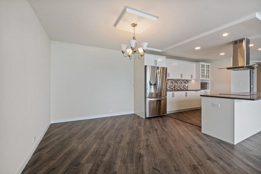 Real Estate Photography - 505 N Lake Shore Dr, Unit 6504, Chicago, IL, 60611 - Dining Room