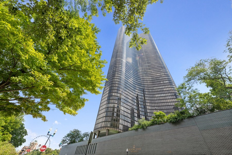 Real Estate Photography - 505 N Lake Shore Dr, Unit 6504, Chicago, IL, 60611 - Front View