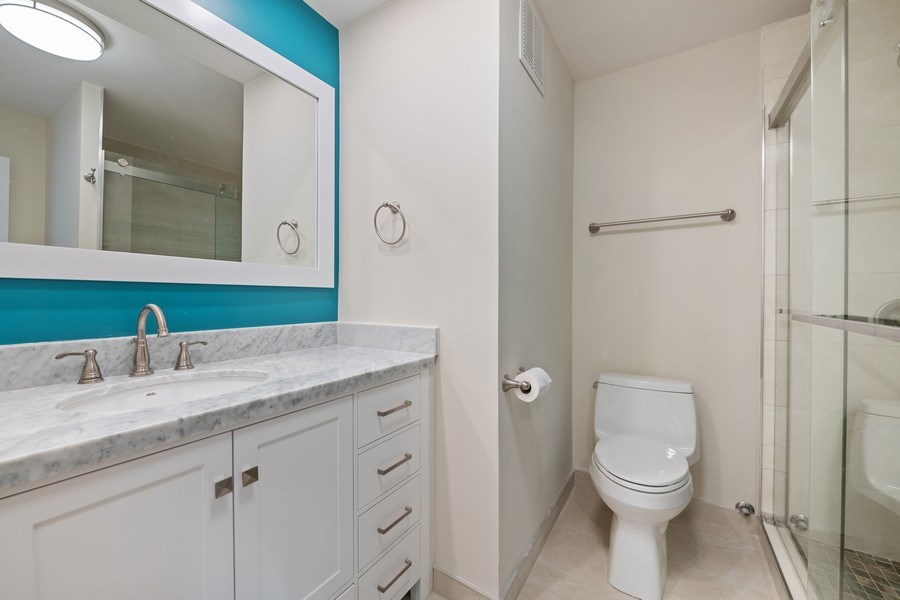 Real Estate Photography - 505 N Lake Shore Dr, Unit 6504, Chicago, IL, 60611 - Bathroom