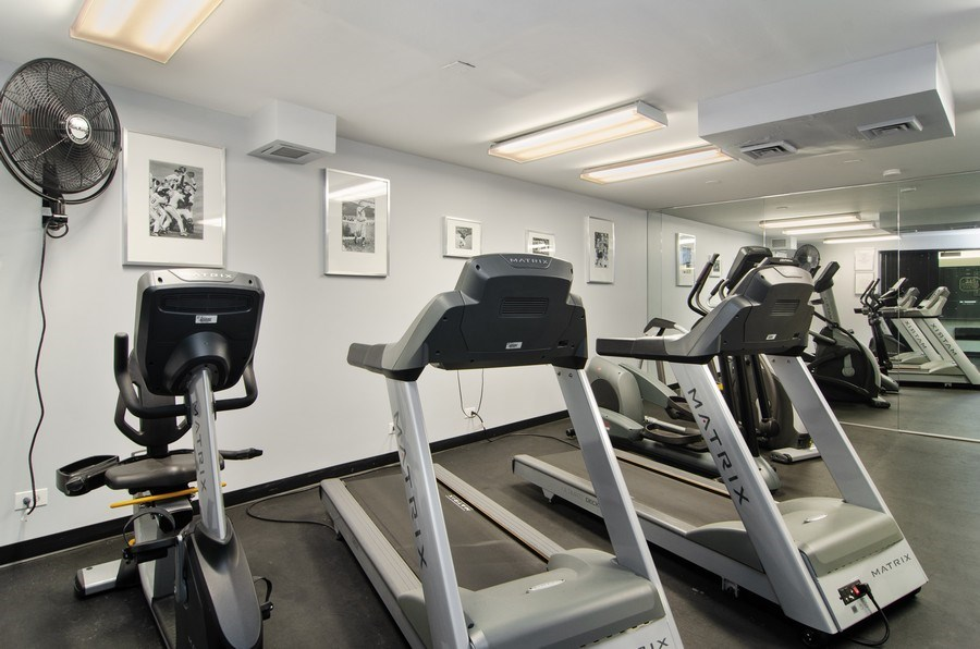 Real Estate Photography - 345 w. fullerton #2204, Chicago, IL, 60614 - Fitness Center