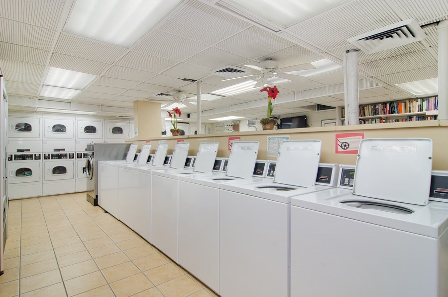 Real Estate Photography - 345 w. fullerton #2204, Chicago, IL, 60614 - Laundry Room