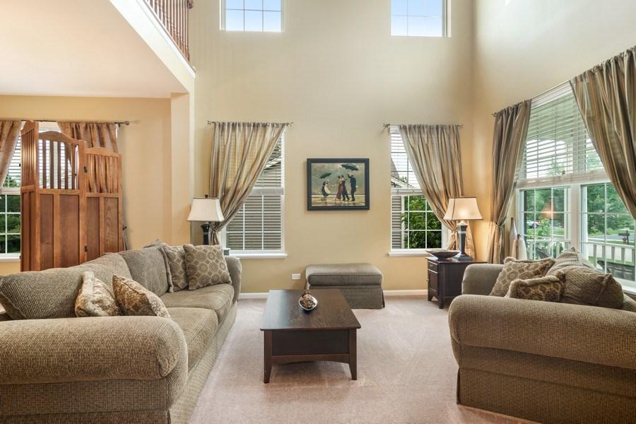 Real Estate Photography - 1017 Galena, volo, IL, 60073 - Living Room
