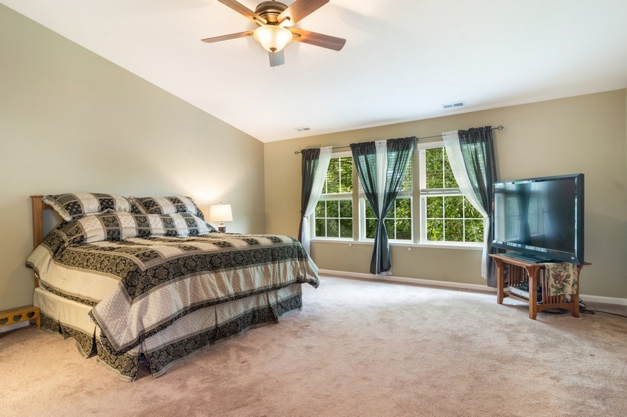 Real Estate Photography - 1017 Galena, volo, IL, 60073 - Master Bedroom