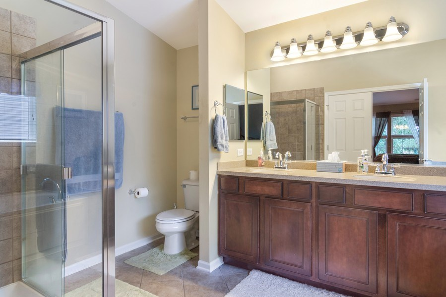 Real Estate Photography - 1017 Galena, volo, IL, 60073 - Master Bathroom