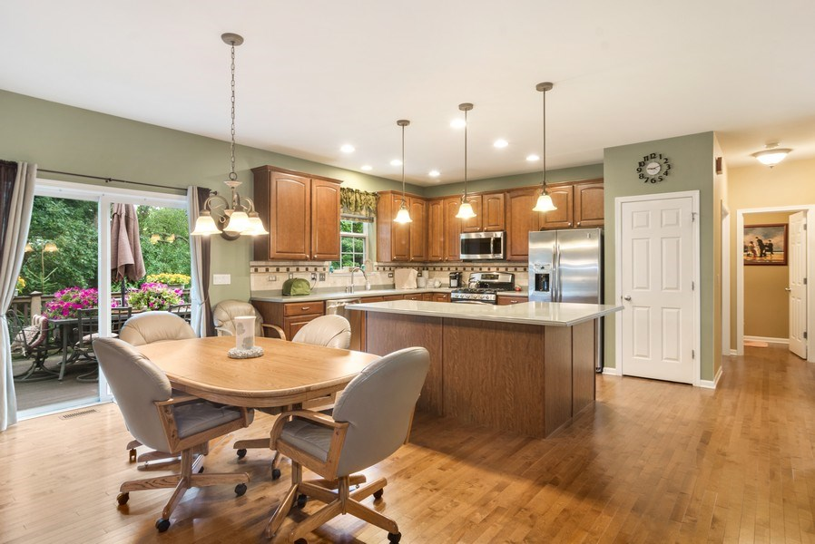 Real Estate Photography - 1017 Galena, volo, IL, 60073 - Kitchen / Breakfast Room