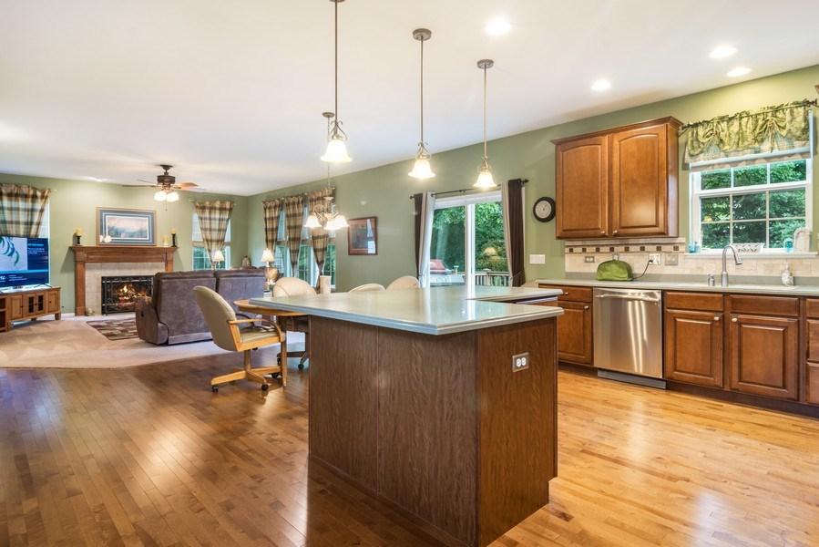 Real Estate Photography - 1017 Galena, volo, IL, 60073 - Great Room